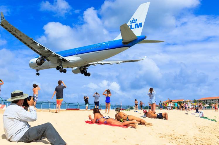 Maho Beach KLM Daniel Jef