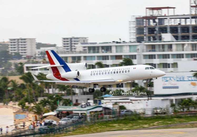 Emmanuel Macrons Privat Jet